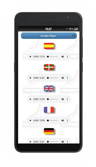 audioguide AG 95 (audioguides, audioguide App) - sprachen